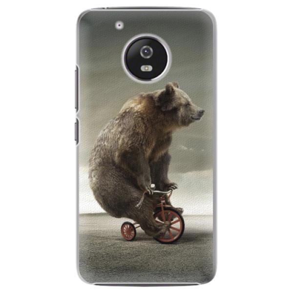 Plastové pouzdro iSaprio - Bear 01 - Lenovo Moto G5