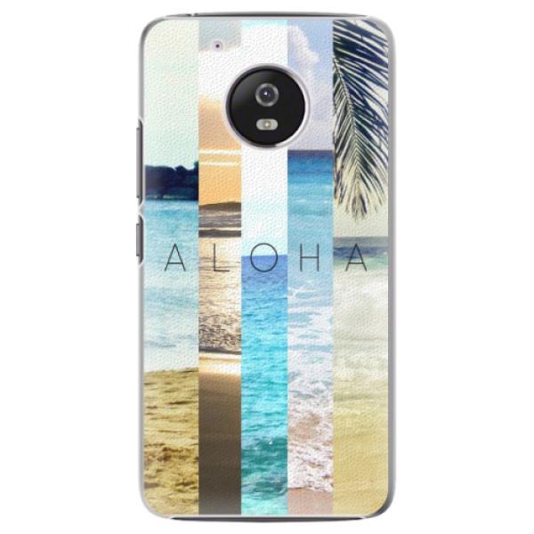 Plastové pouzdro iSaprio - Aloha 02 - Lenovo Moto G5