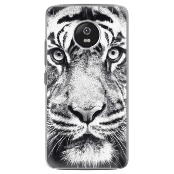 Plastové pouzdro iSaprio - Tiger Face - Lenovo Moto G5