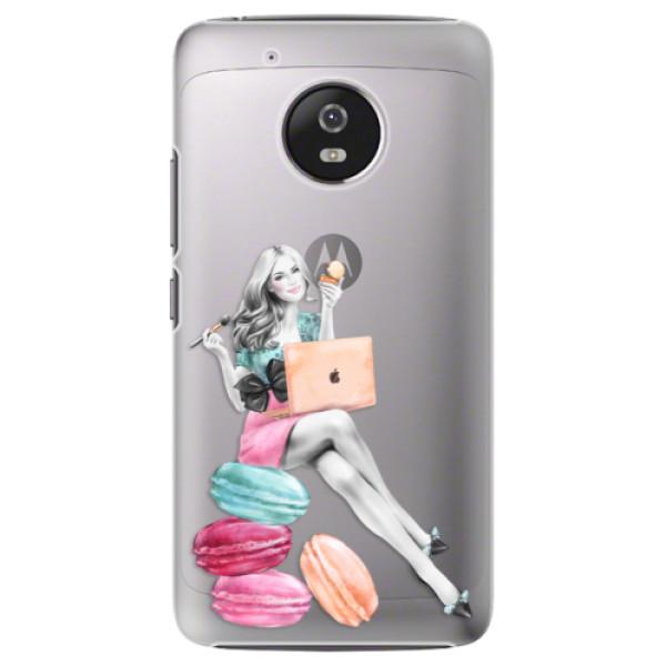 Plastové pouzdro iSaprio - Girl Boss - Lenovo Moto G5