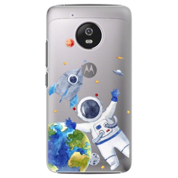 Plastové pouzdro iSaprio - Space 05 - Lenovo Moto G5