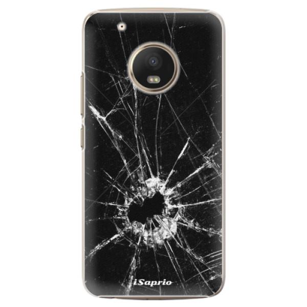 Plastové pouzdro iSaprio - Broken Glass 10 - Lenovo Moto G5 Plus
