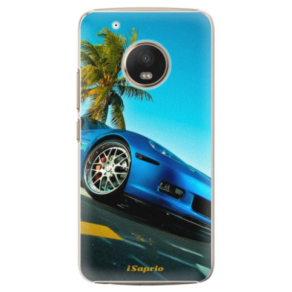 Plastové pouzdro iSaprio - Car 10 - Lenovo Moto G5 Plus