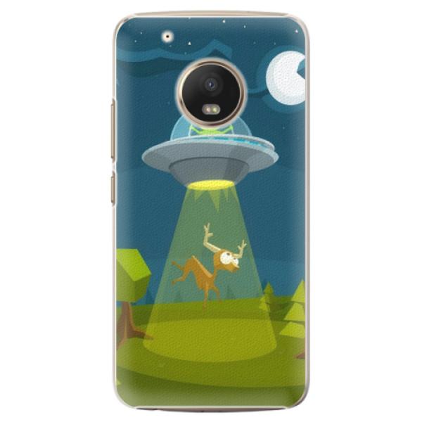 Plastové pouzdro iSaprio - Alien 01 - Lenovo Moto G5 Plus