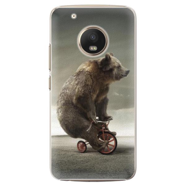 Plastové pouzdro iSaprio - Bear 01 - Lenovo Moto G5 Plus