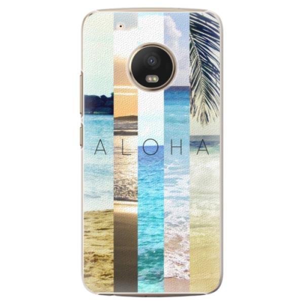Plastové pouzdro iSaprio - Aloha 02 - Lenovo Moto G5 Plus