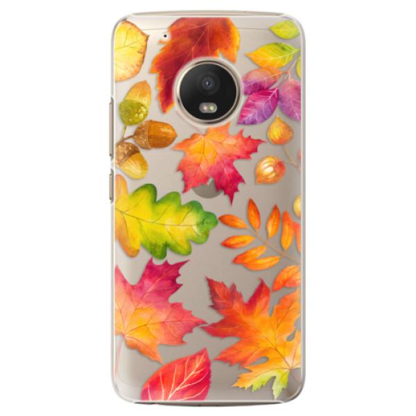 Plastové pouzdro iSaprio - Autumn Leaves 01 - Lenovo Moto G5 Plus