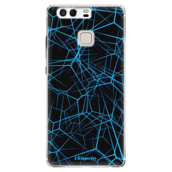 Plastové pouzdro iSaprio - Abstract Outlines 12 - Huawei P9