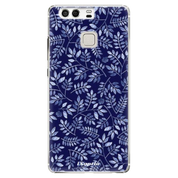 Plastové pouzdro iSaprio - Blue Leaves 05 - Huawei P9