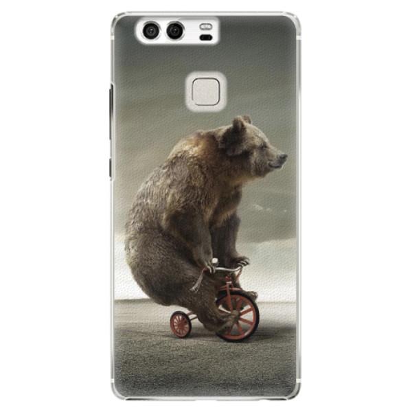 Plastové pouzdro iSaprio - Bear 01 - Huawei P9