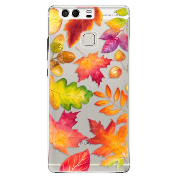 Plastové pouzdro iSaprio - Autumn Leaves 01 - Huawei P9