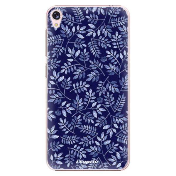 Plastové pouzdro iSaprio - Blue Leaves 05 - Asus ZenFone Live ZB501KL
