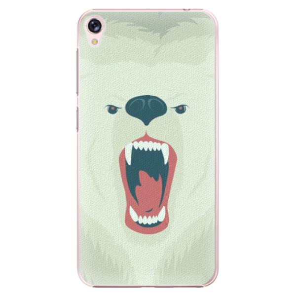 Plastové pouzdro iSaprio - Angry Bear - Asus ZenFone Live ZB501KL
