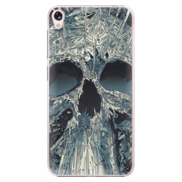 Plastové pouzdro iSaprio - Abstract Skull - Asus ZenFone Live ZB501KL