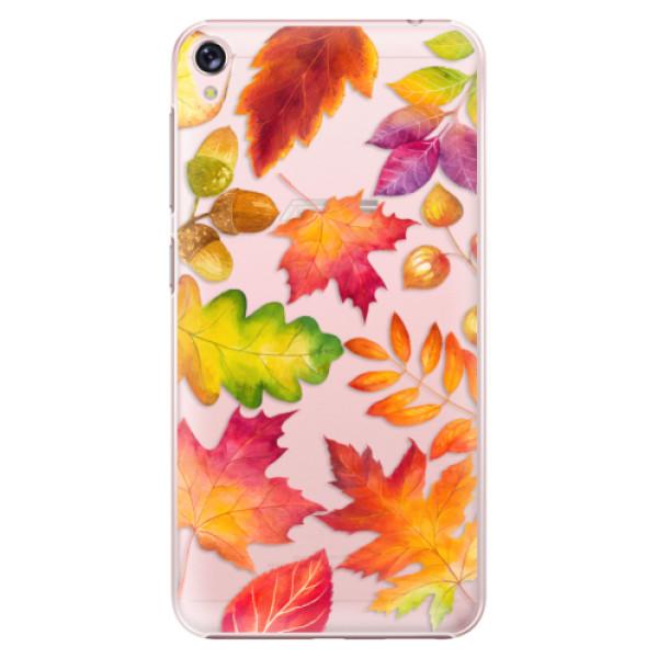 Plastové pouzdro iSaprio - Autumn Leaves 01 - Asus ZenFone Live ZB501KL