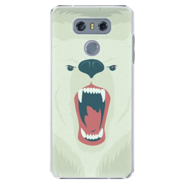Plastové pouzdro iSaprio - Angry Bear - LG G6 (H870)
