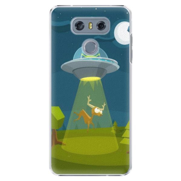 Plastové pouzdro iSaprio - Alien 01 - LG G6 (H870)