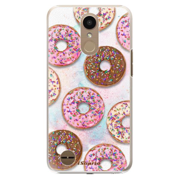 Plastové pouzdro iSaprio - Donuts 11 - LG K10 2017