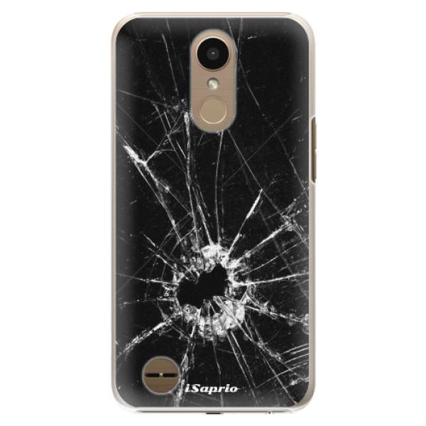 Plastové pouzdro iSaprio - Broken Glass 10 - LG K10 2017