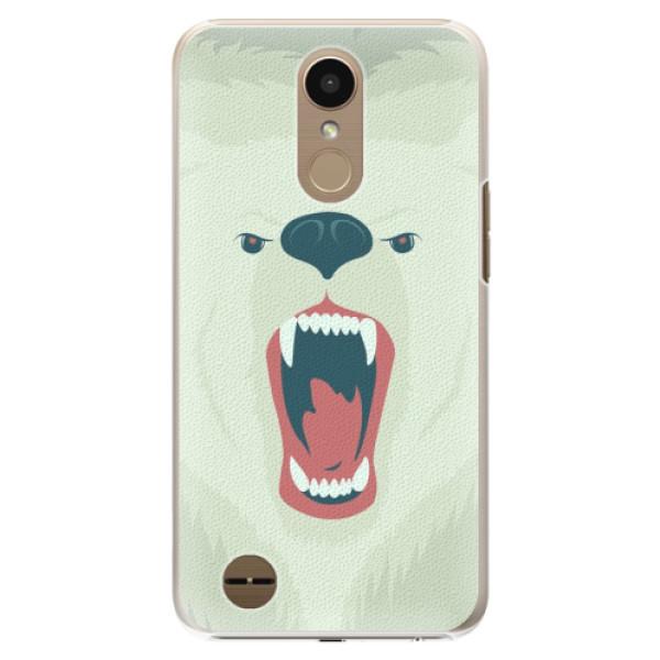 Plastové pouzdro iSaprio - Angry Bear - LG K10 2017