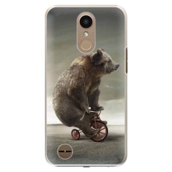 Plastové pouzdro iSaprio - Bear 01 - LG K10 2017
