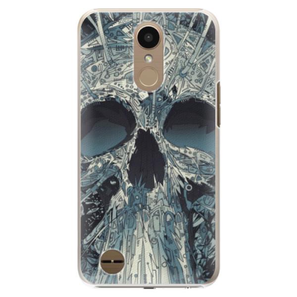 Plastové pouzdro iSaprio - Abstract Skull - LG K10 2017