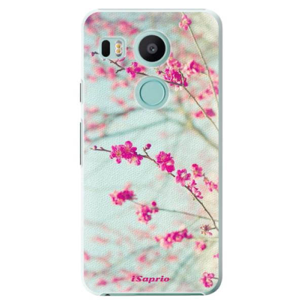 Plastové pouzdro iSaprio - Blossom 01 - LG Nexus 5X