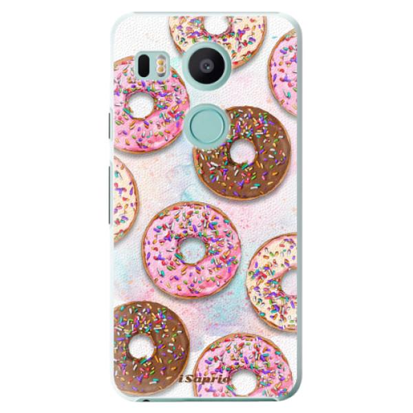 Plastové pouzdro iSaprio - Donuts 11 - LG Nexus 5X