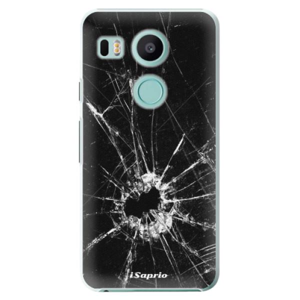 Plastové pouzdro iSaprio - Broken Glass 10 - LG Nexus 5X