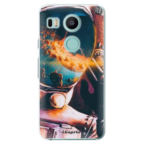 Plastové pouzdro iSaprio - Astronaut 01 - LG Nexus 5X