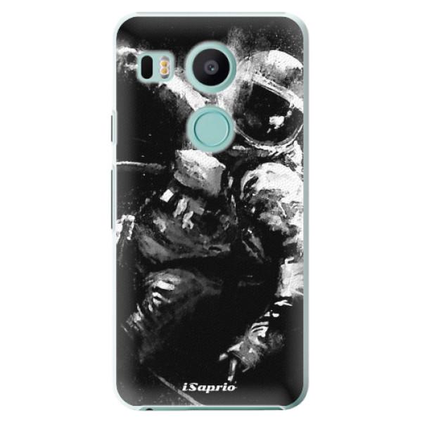 Plastové pouzdro iSaprio - Astronaut 02 - LG Nexus 5X