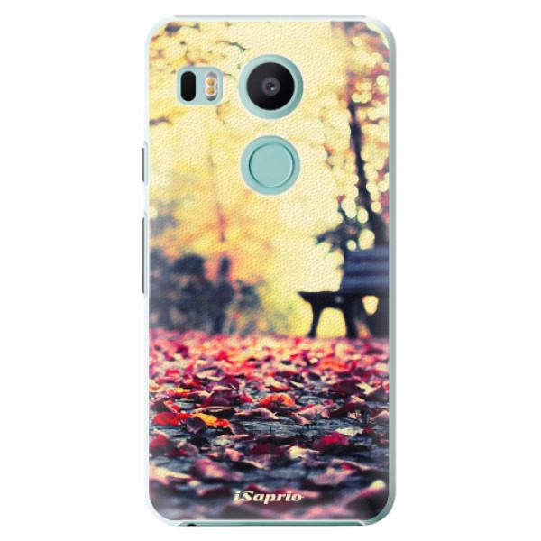 Plastové pouzdro iSaprio - Bench 01 - LG Nexus 5X
