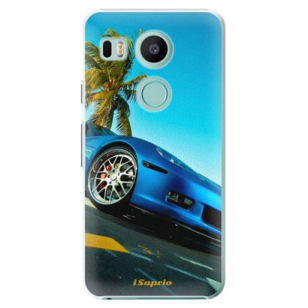 Plastové pouzdro iSaprio - Car 10 - LG Nexus 5X