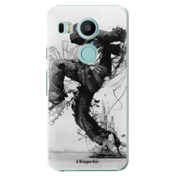 Plastové pouzdro iSaprio - Dance 01 - LG Nexus 5X