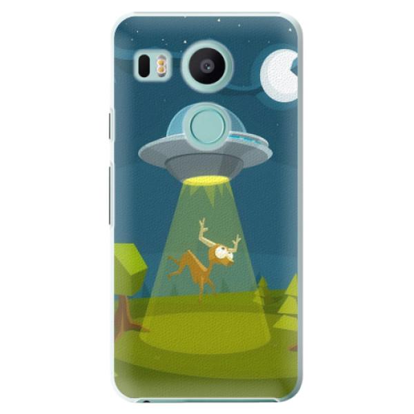 Plastové pouzdro iSaprio - Alien 01 - LG Nexus 5X