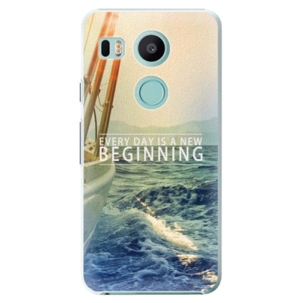 Plastové pouzdro iSaprio - Beginning - LG Nexus 5X