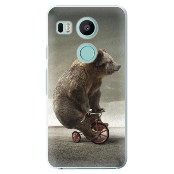 Plastové pouzdro iSaprio - Bear 01 - LG Nexus 5X