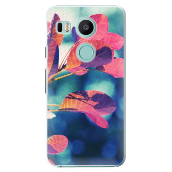 Plastové pouzdro iSaprio - Autumn 01 - LG Nexus 5X