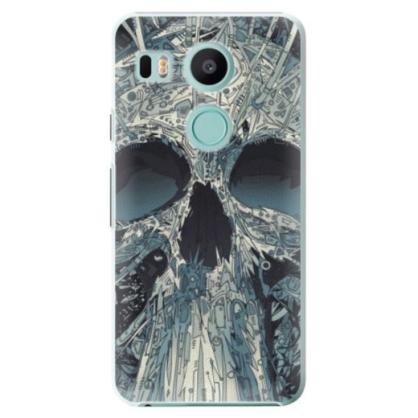 Plastové pouzdro iSaprio - Abstract Skull - LG Nexus 5X