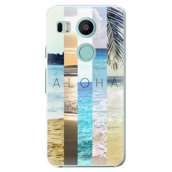 Plastové pouzdro iSaprio - Aloha 02 - LG Nexus 5X