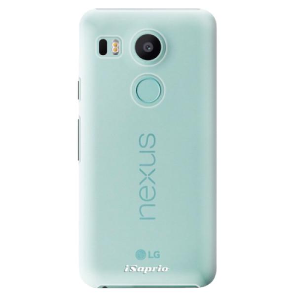 Plastové pouzdro iSaprio - 4Pure - mléčný bez potisku - LG Nexus 5X