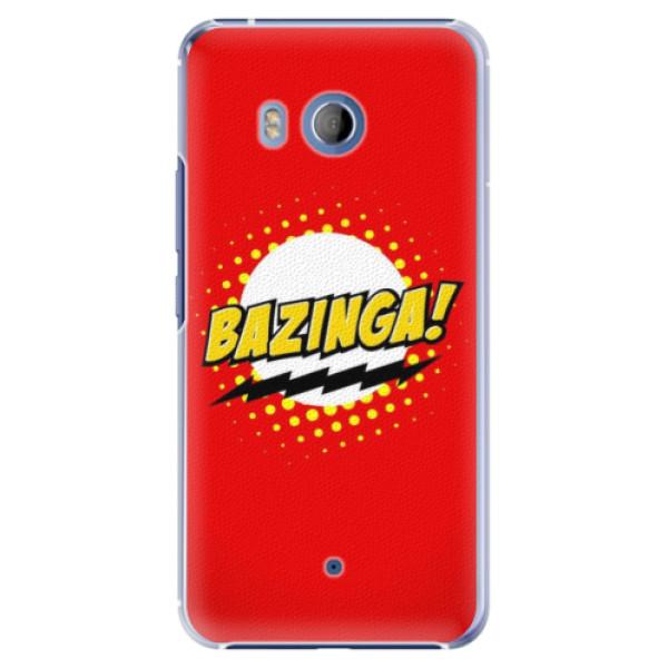 Levně Plastové pouzdro iSaprio - Bazinga 01 - HTC U11