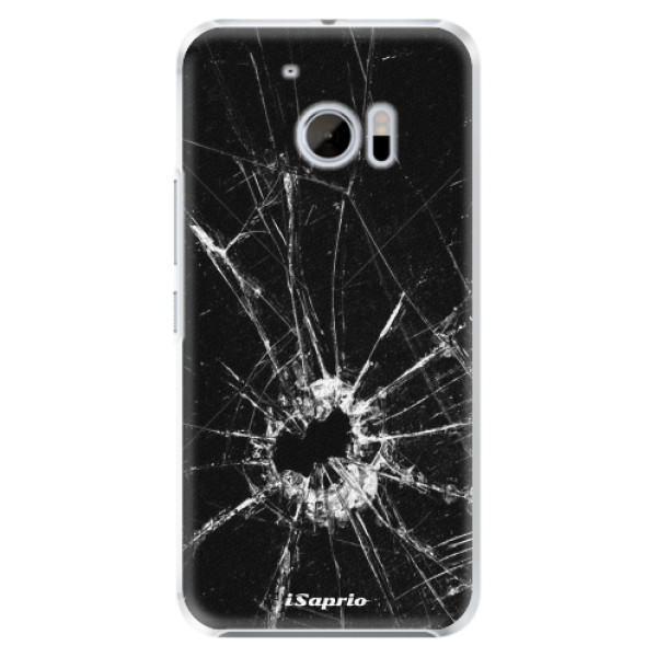 Plastové pouzdro iSaprio - Broken Glass 10 - HTC 10
