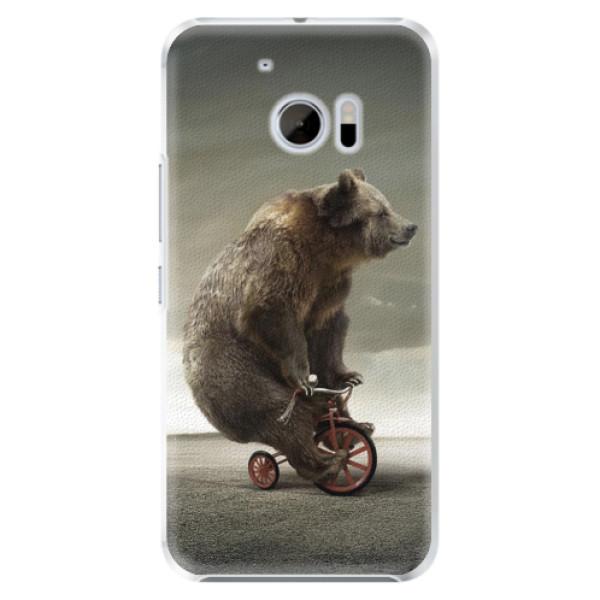 Plastové pouzdro iSaprio - Bear 01 - HTC 10