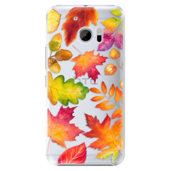 Plastové pouzdro iSaprio - Autumn Leaves 01 - HTC 10