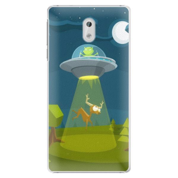 Plastové pouzdro iSaprio - Alien 01 - Nokia 3
