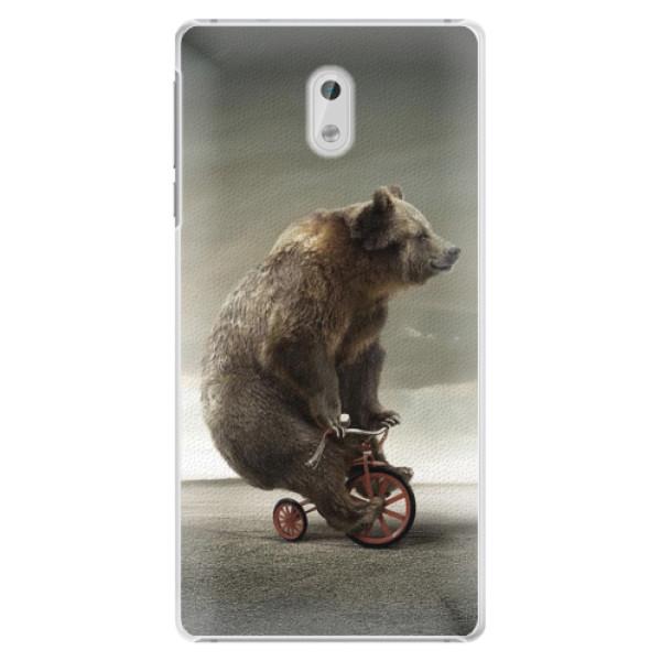 Plastové pouzdro iSaprio - Bear 01 - Nokia 3