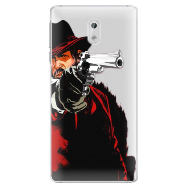 Plastové pouzdro iSaprio - Red Sheriff - Nokia 3