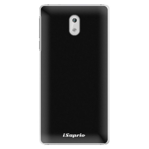 Plastové pouzdro iSaprio - 4Pure - černý - Nokia 3