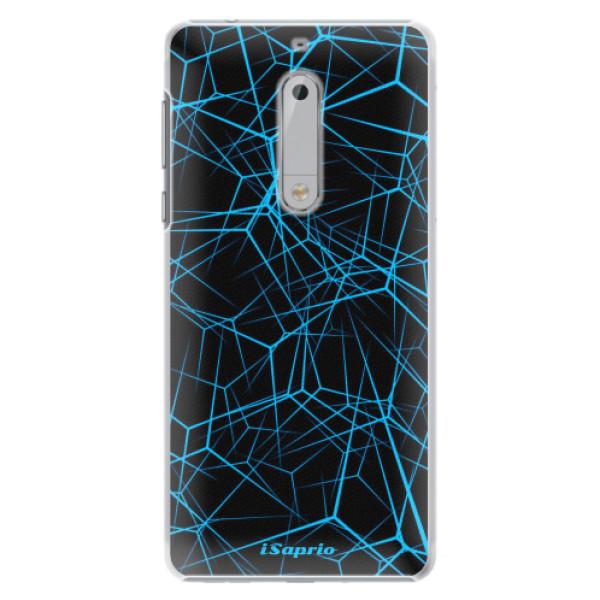 Plastové pouzdro iSaprio - Abstract Outlines 12 - Nokia 5